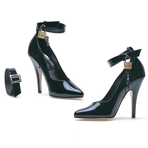 high heel 5 inch heel locking ankle 8227