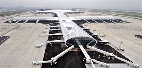 designboom airport studio fuksas expands shenzhen bao an international airport