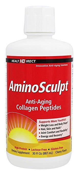 Collagen Original aminosculpt original type 1 liquid collagen peptides cherry