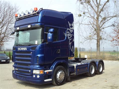 scania r500 6x4 euro5 tractor unit szm tractor unit from