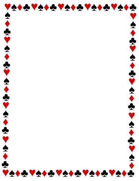 margenes infantiles para imprimir imagui bordes decorativos bordes decorativos de cartas de poker