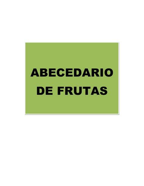 imagenes de frutas que empiecen con la letra a detalles de cada fruta del abecedario