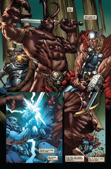 Thor Rage komix 101 rage of thor by mico suayan