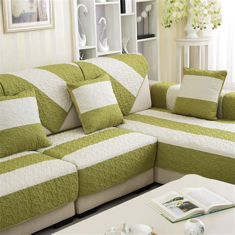 cover for sectional sofa aliexpress com buy new arrival 2016 modern stripped sofa