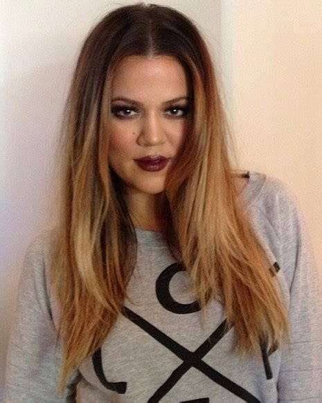 khloekardashian new hairstyle 2014 khloe kardashian hairstyles center part hairstyle
