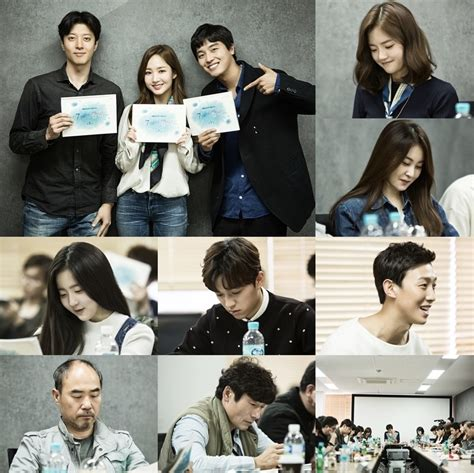film korea a day first script reading for kbs2 drama series queen for