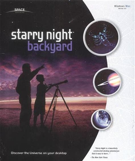 starry night backyard guildsoft ltd starry night backyard 4 astronomy software