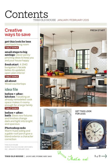 home design magazine facebook kraemer house is in this old house magazine again