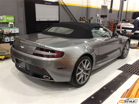 How Would You Like To Wrap A Martin Margiela Bow Around Your Ring Finger by Aston Martin Vantage Wrap Vehicle Customization Shop