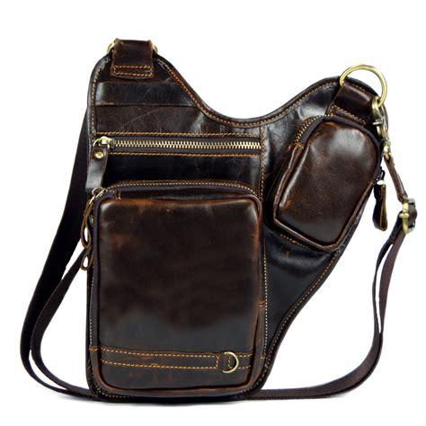 Dachhg Tas Selempang Pria Laki Laki Cowok aliexpress beli asli messenger tas kulit untuk pria tas bahu laki laki crossbody tas