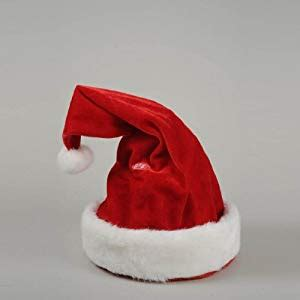 amazon uk christmas novelties wholesale animated novelty singing and hat 30cm co uk kitchen home