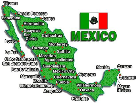 map of the country of mexico faqs buying a second home in mexico how foreign