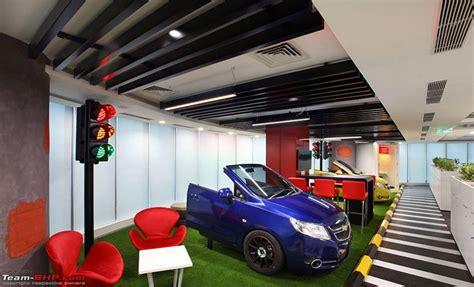 general motors headquarters general motors cool new office at gurgaon team bhp