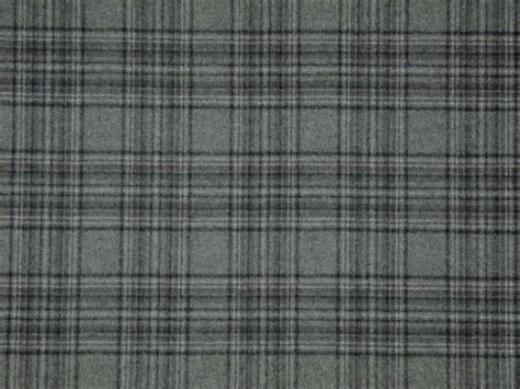 Designer Curtain Upholstery Fabric 100 Wool Tartan Check