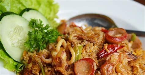diah didis kitchen nasi goreng seafood kulit ayam
