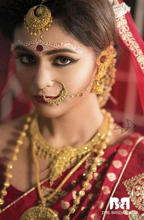 14 best bengali bridal makeup images on Pinterest