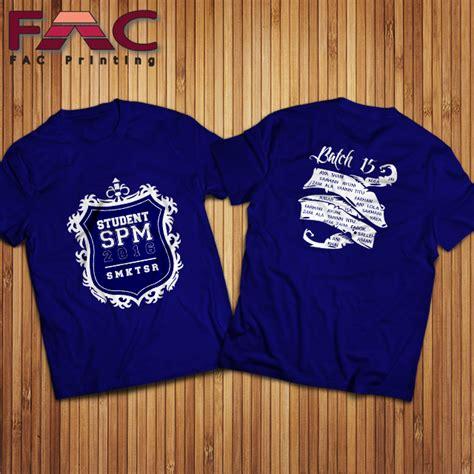 design baju kelas online t shirt printing murah tshirt printing malaysia