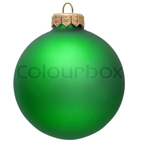 green ornaments green ornament isolated white stock photo