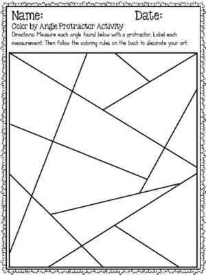 printable protractor games 17 best images about teaching angles activities common
