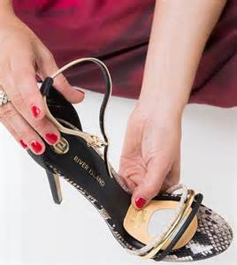 how to stop high heels from slipping crafty ways to make summer shoes fit better daily mail