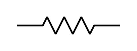 fixed resistor schematic symbol and description what is the symbol of a fixed resistor