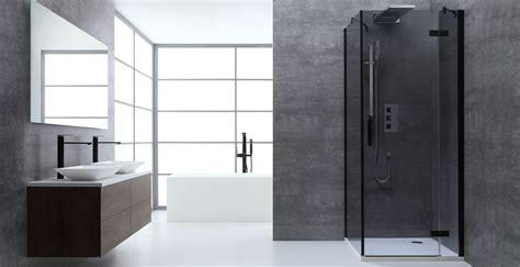 Duschen In Badewanne 1005 by Awt Dusche Duschabtrennung Lbs1005 B Schwarz 100x100