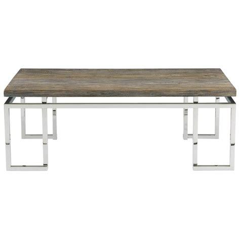 railroad tie console table rei industrial loft grey teak wood railroad tie coffee