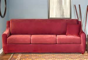 Slipcovers For Sleeper Sofas Sure Fit Stretch Piqu 233 3 Seat Sleeper Sofa