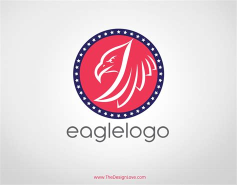 pattern logos free vector eagle logo for start up