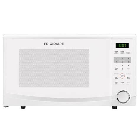 1 1 Cu Ft Countertop Microwave by Shop Frigidaire 1 1 Cu Ft 1 100 Watt Countertop Microwave White At Lowes