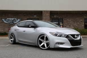 Rims For A Nissan Maxima Lowered 2016 Nissan Maxima Concavo Wheels