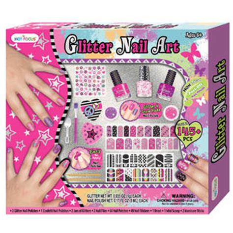 arts and crafts sets for focus glitter nail set toys arts