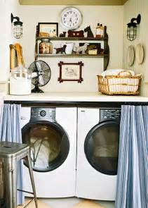 Laundry Room Curtain Decor Home Interior Design For Make Small Laundry Room Decorating Ideas 3 Annaziwang