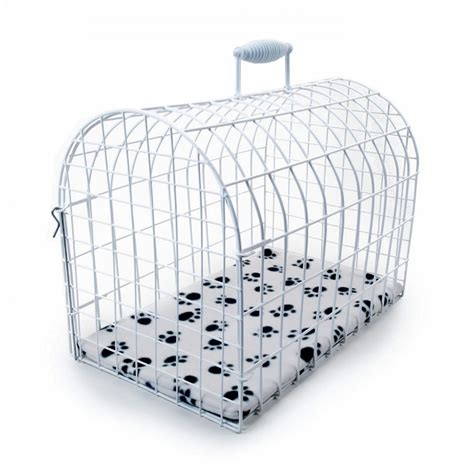 small carriers pennine plastic coated small domed pet carrier