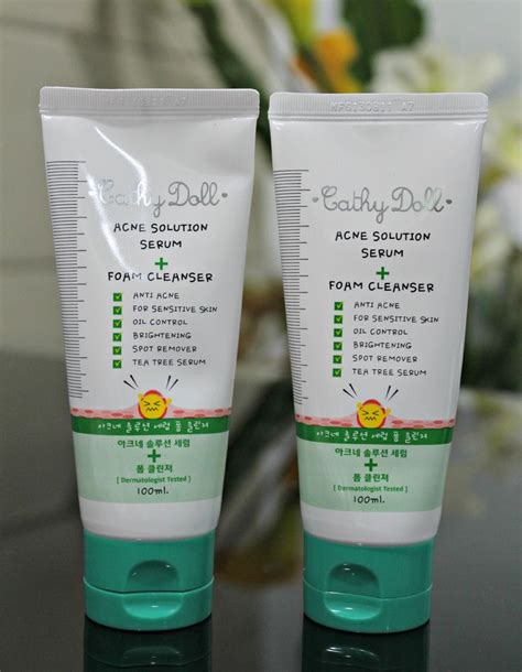 Gluta Acne Foam 17 best images about cathy doll on serum bright skin and lotion