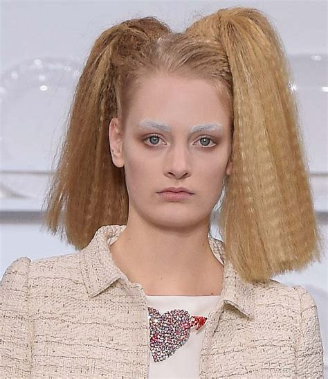 2016 spring hairstyles and makeup schiaparelli hairstyles makeup spring 2016 couture