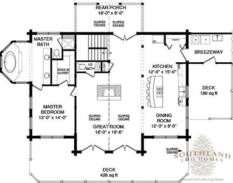 southland log homes floor plans hawkins plans information southland log homes