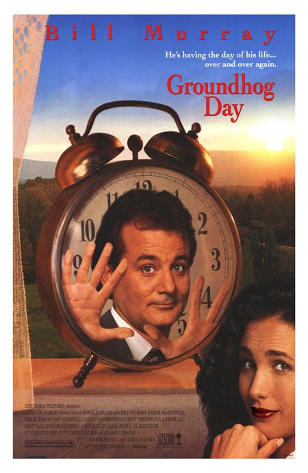 groundhog day theatrical trailer alternate wednesday an alternate groundhog day e c myers