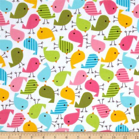 fabric pattern wholesale urban zoologie flannel birds sweet discount designer