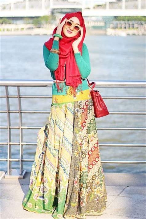 Gamis Gaya Vintage Modernbaju Muslim Wanita 2016 Model Murah contoh baju muslim rancangan dian pelangi fashionable