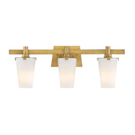 Gold Bathroom Vanity Lights Designers Hyde Park 3 Light Vintage Gold Interior Incandescent Bath Vanity Light 87903