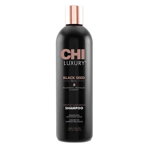 black seed oil haar nl chi luxury gentle cleansing shoo best hair