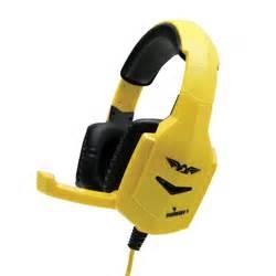 Headset Gaming Armaggeddon armaggeddon molotov1 stereo gaming headset yellow