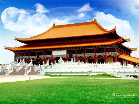 chinese house travel trip journey forbidden city beijing china
