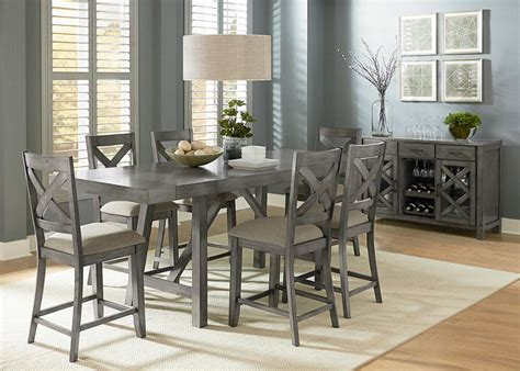 collection in tall dining table set with room best regarding stylish quality dining room sets illinois indiana the roomplace