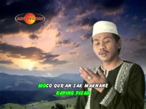Sholawat Tombo Ati Khanwar Zahid Feat Mila Kh Anwar Zahid Tombo Ati