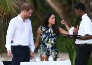 harry and meghan markle prince harry and meghan markle at wedding in jamaica 2017