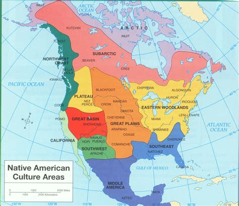 american maps regions american culture areas ya yanative