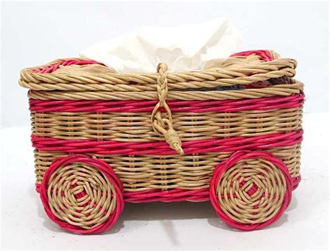 Keranjang Laundry Rotan rattan storage baskets laundry baskets tissue box rattan wicker hers basketwares