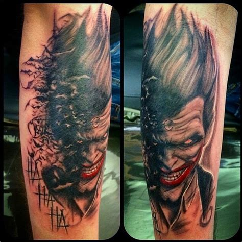 if you thought the joker s tattoos were insane check out